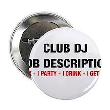 """DJ JOB.jpg 2.25"""" Button"""