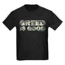 Wall Street/Greed is Good T