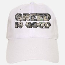 Wall Street/Greed is Good Baseball Baseball Cap