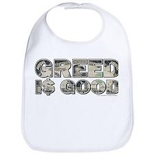 Wall Street/Greed is Good Bib
