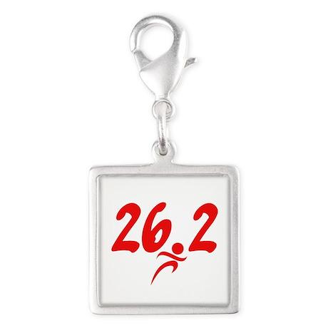 Red 26.2 marathon Charms
