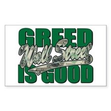 Wall Street/Greed is Good Decal