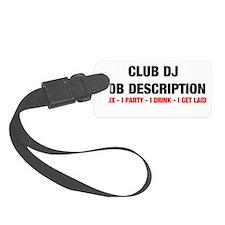 DJ JOB.jpg Luggage Tag