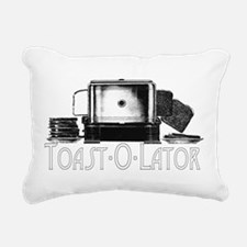 Toast-O-Lator Rectangular Canvas Pillow