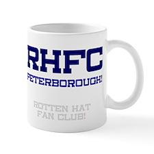 RHFC PETERBOROUGH - ROTTEN HAT FAN CLUB! Small Mug