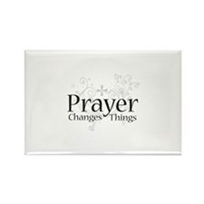 Prayer Changes Things Rectangle Magnet