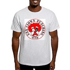 USA Clown Punching Team Ash Grey T-Shirt