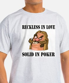 Reckless in Love... Ash Grey T-Shirt