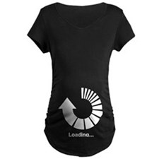 Baby Loading Please Wait Maternity T-Shirt