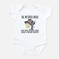 Devil makes a Deal... Infant Bodysuit