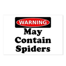 May Contain Spiders Postcards (Package of 8)