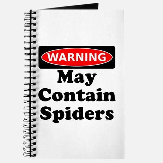 May Contain Spiders Journal