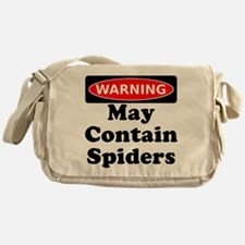 May Contain Spiders Messenger Bag