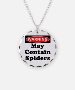 May Contain Spiders Necklace