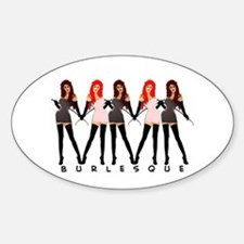 Burlesque Dancers Decal