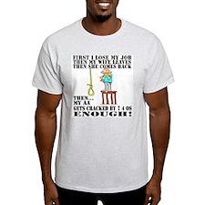 AA Cracked.... Ash Grey T-Shirt