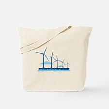 Offshore Wind Farm Tote Bag