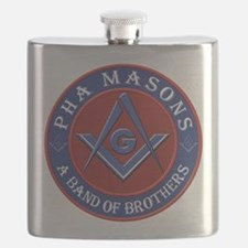 Prince Hall Masons. A band of brothers Flask