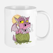 Breast Cancer Baby Dragon Mug
