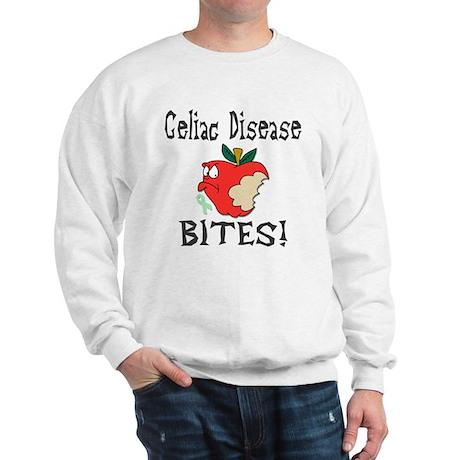 Celiac Disease Bites Sweatshirt