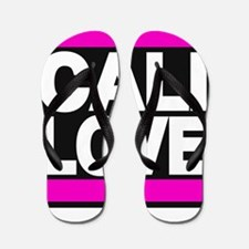 cali love pink Flip Flops