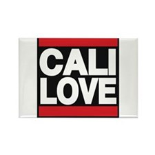 cali love red Rectangle Magnet