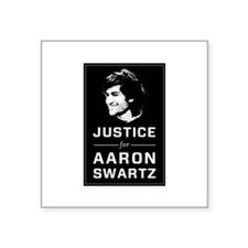 Justice for Aaron Swartz Sticker