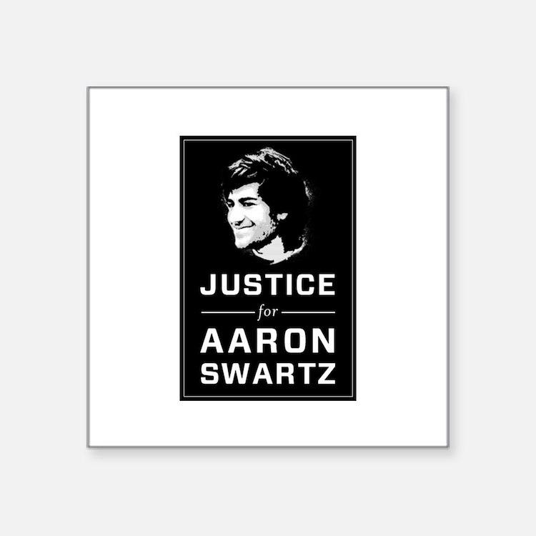 Justice for Aaron Swartz Sticker