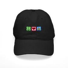 Peace Love Veteran Baseball Hat