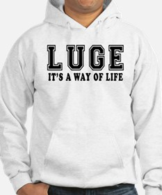 Luge It's A Way Of Life Hoodie