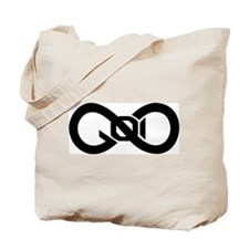 God Infinity Symbol Tote Bag