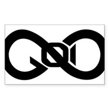 God Infinity Symbol Decal
