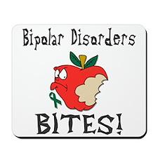 Bipolar Disorders Bites Mousepad