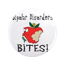 """Bipolar Disorders Bites 3.5"""" Button"""