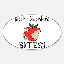 Bipolar Disorders Bites Decal