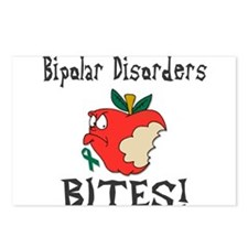 Bipolar Disorders Bites Postcards (Package of 8)