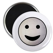 "Volleyball Smiley Face 2.25"" Magnet (10 pack)"