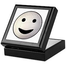 Volleyball Smiley Face Keepsake Box