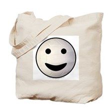 Volleyball Smiley Face Tote Bag