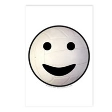 Volleyball Smiley Face Postcards (Package of 8)