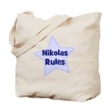Nikolas Rules Tote Bag