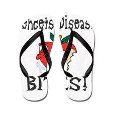 Behcets Disease Bites Flip Flops