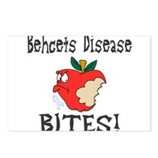 Behcets Disease Bites Postcards (Package of 8)