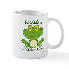 F.R.O.G. Fully, Relying,On,God Mug