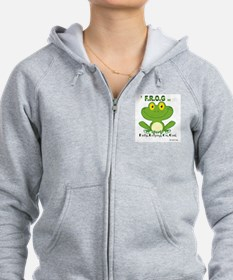 F.R.O.G. Fully, Relying,On,God Zip Hoodie