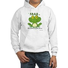F.R.O.G. Fully, Relying,On,God Hoodie