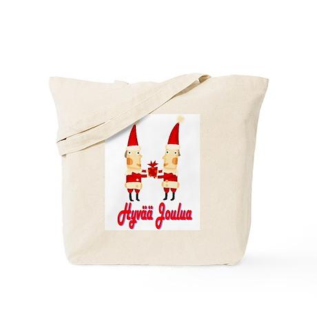 Hyvää Joulua Twins Tote Bag