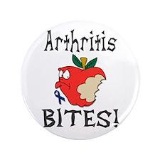 """Arthritis Bites 3.5"""" Button"""
