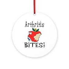 Arthritis Bites Ornament (Round)