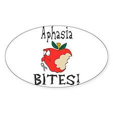 Aphasia Bites Decal